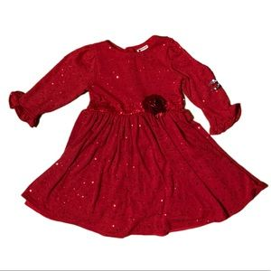 Emily West Red Sequin Dress - 7